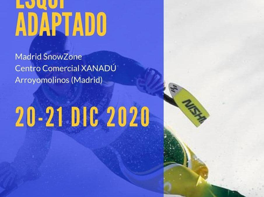 Madrid SnowZone acoge el Campeonato de España de esquí adaptado