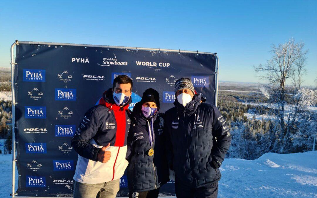 Irati Idiakez gana la prueba de la Copa del Mundo de snowboard en Finlandia