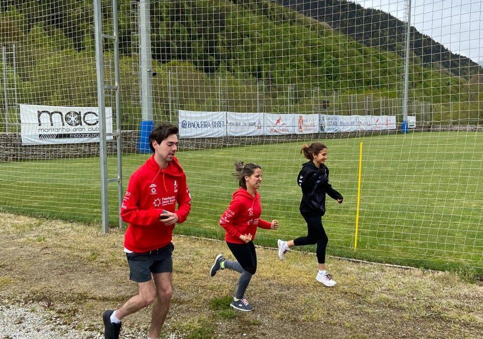 Irati Idiakez, Raquel Martínez y Joaquim Segú inician la pretemporada