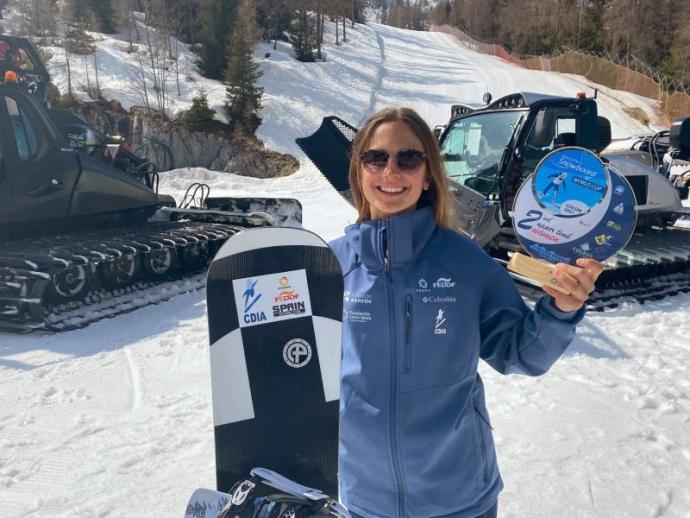 Irati Idiakez, el snowboard como nuevo motor de vida