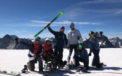 Primera concentración de pretemporada en Les deux Alps