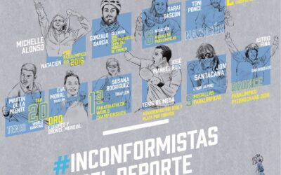 Astrid Fina, protagonista de la exposición #InconformistasDelDeporte