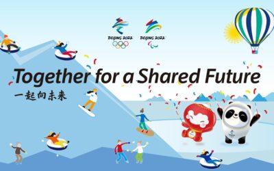 Juntos por un futuro compartido, el lema de los Juegos Paralímpicos de Pekín 2022